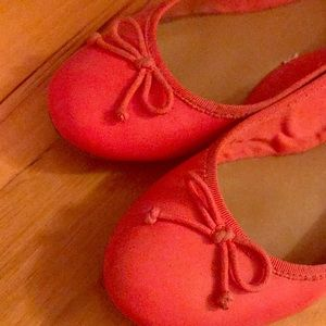 Shoes - Red ballet flats